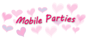 Girl's Mobile Parties at Razzbery Lips